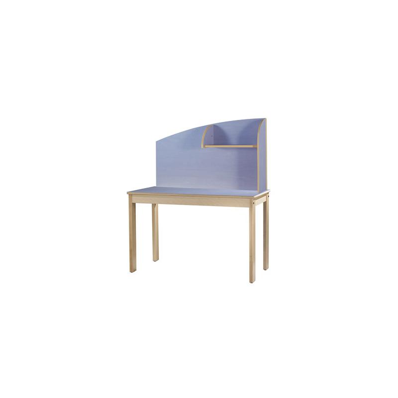 bureau arados avec s parateur retour droite millenium collectivites. Black Bedroom Furniture Sets. Home Design Ideas