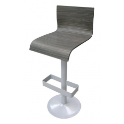 Chaise haute Rondo coque ébène