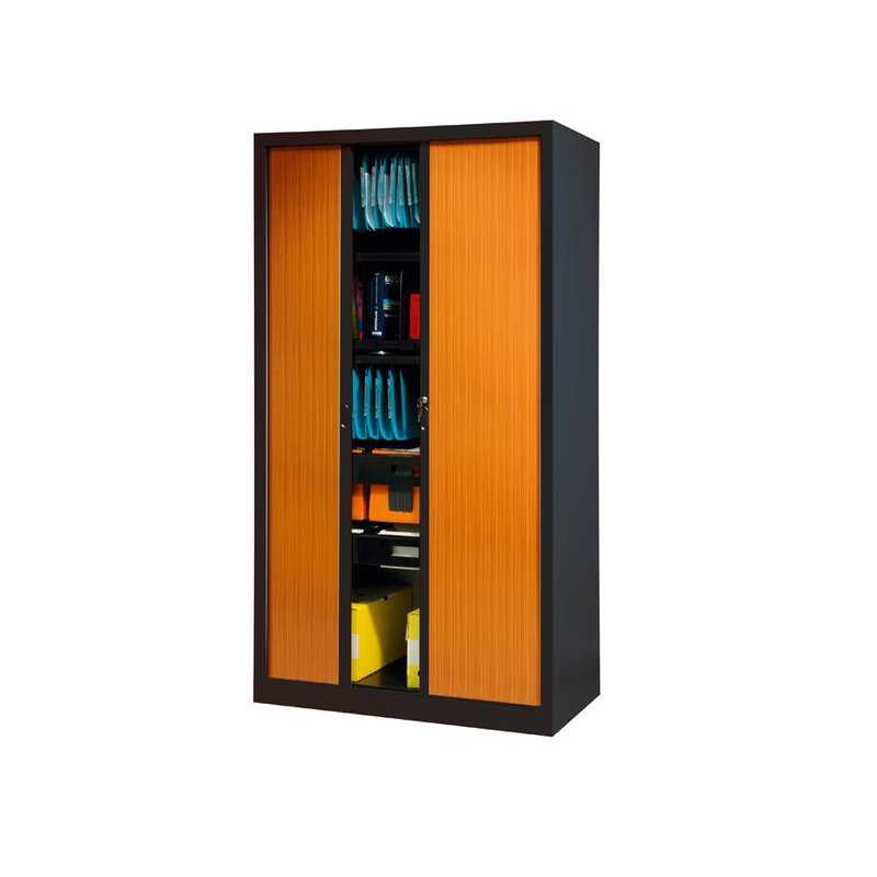 armoire m tallique rideaux mobilier de rangement millenium collectivites. Black Bedroom Furniture Sets. Home Design Ideas
