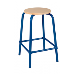 Tabouret assise ronde ht 59 cm