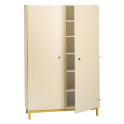 Armoire 2 portes battantes sur socle largeur 120 cm