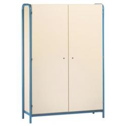Armoire 2 portes battantes avec structure laterale largeur 120 cm