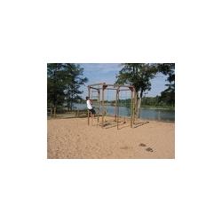 Structure de jeux en bois Boundao 2,40m x 2,70 m