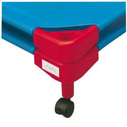 Porte étiquette pour couchette empilable