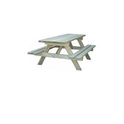 Table Jura en bois naturel de traitement