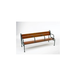 Banc grand confort en exotique naturel