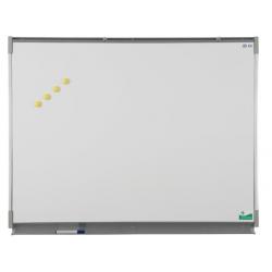 Tableau simple 1,20 x 3 m émaillé blanc