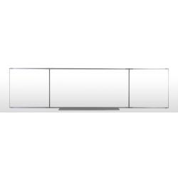 Tableau triptyqye 1 x 2 m émaillé blanc