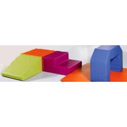 Kit parcours 4 pièces + carré de jonction