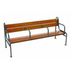 Banc grand confort en version compact