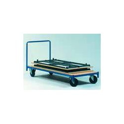 Chariot de transport de tables pliantes