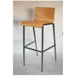 Chaise haute Bornéo coloris ébène