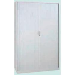 Armoire métallique - portes à rideaux - 103 x 100 cm