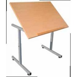 Table pour personne à mobilité réduite plateau fixe