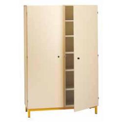 Armoire 2 portes battantes sur socle largeur 90 cm