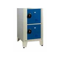 Casier visitable pour le lycéé - 1 colonne largeur 50 cm - 2 cases