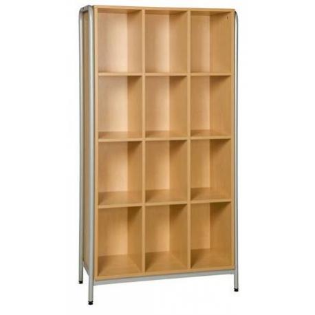 meuble lves 16 cases sans porte avec structure latrale