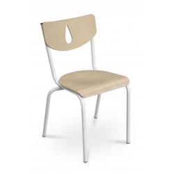 Chaise AURA 4P - Blanc