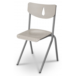 Chaise AURA A/T - Gris