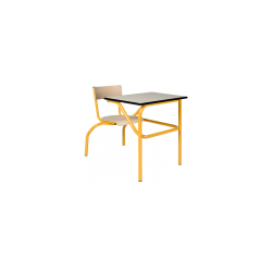 Table à sièges attenants ouverture droite