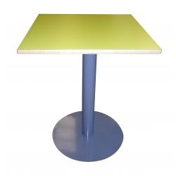 Tables piètement central rond- 60 x 60 cm