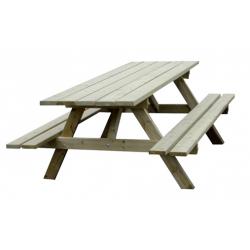 Table Juracelle en bois résineux naturel