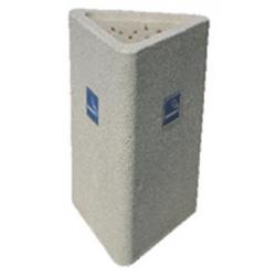 Cendrier Trifacio 30 x 73 ,5 cm - 150 kgs