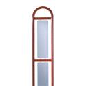 Lot 3 enjoliveurs latéraux Ionis pour échelle h.1,80m tôle micro perforée ép.20/10e