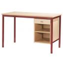 Bureau Pylos avec niche+tiroir sans porte 120x60