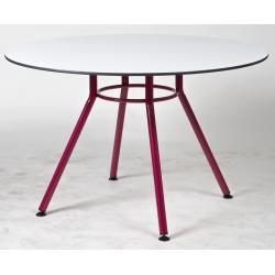 Table BLIZZARD piètement central Ø 120 cm