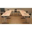 Tables pliantes de réunion et salles polyvalentes