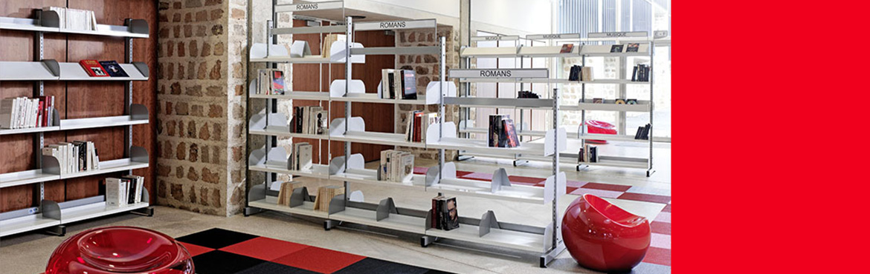 Le mobilier de bibliothèques et CDI